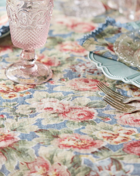 Cotillion Linen Dining Tablecloth