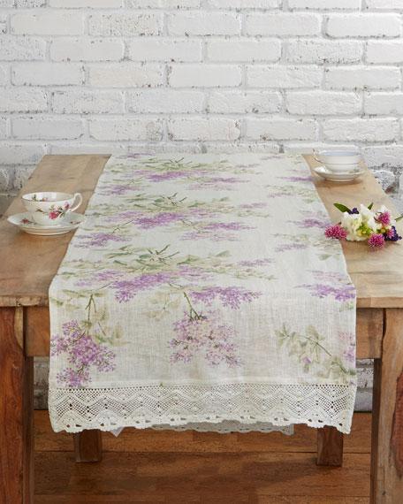 Lilah Linen Table Runner