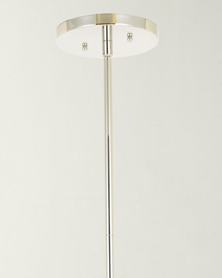 Fulton 6-Light Polished Nickel Chandelier