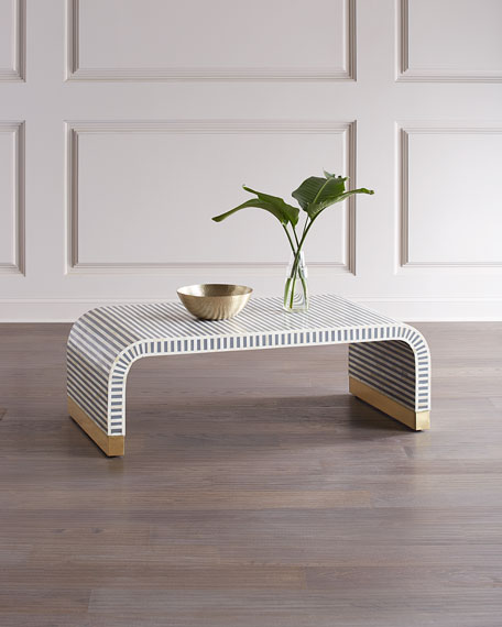 Beacon Bone Inlay Coffee Table