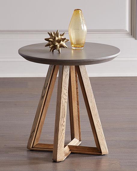 Greta Concrete Top Side Table