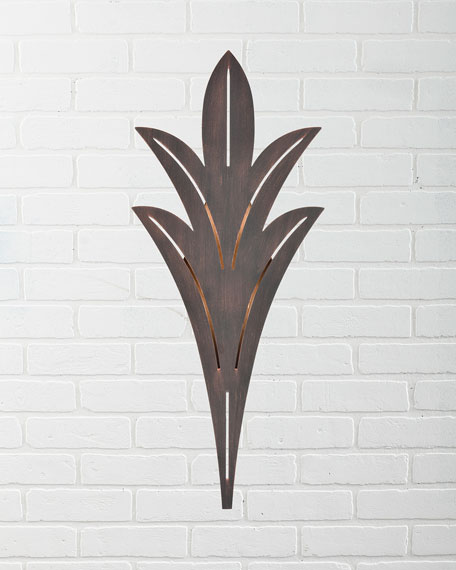 Palm Fronds 1-Light Sconce
