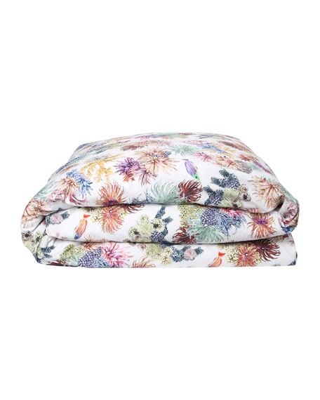 Kip&Co Great Barrier Reef Cotton Duvet Cover -