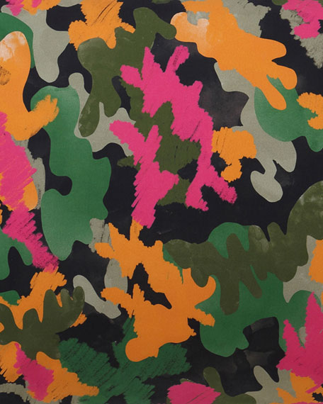 Kip&Co Kids' Camo Pink Fitted Sheet - Twin