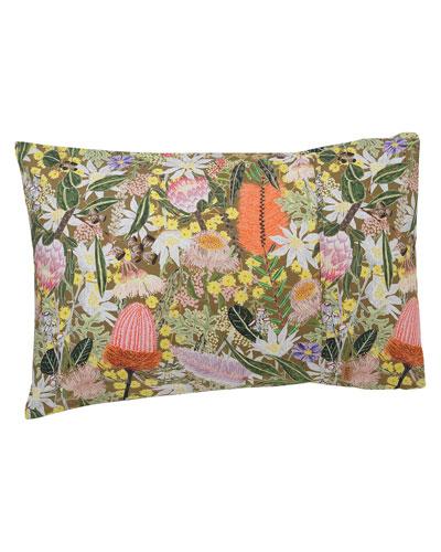 Native Plantation Pillowcase - Standard  Set of Two