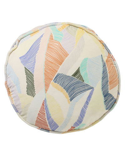 Boardwalk Sand Velvet Pea Cushion