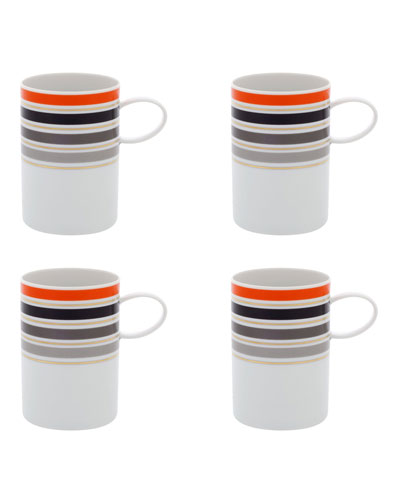 Casablanca Coffee Mugs  Set Of 4