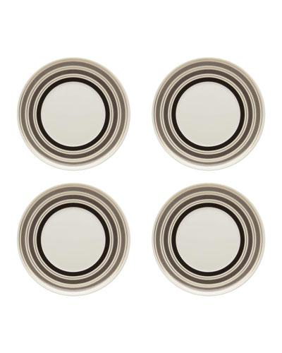 Casablanca Bread & Butter Plates  Set of Four