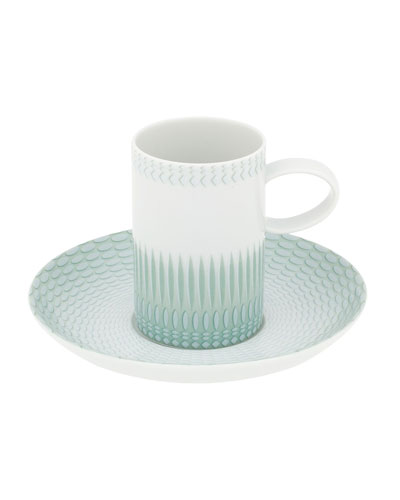 Venezia Espresso/Coffee Cups & Saucers  Set of 4