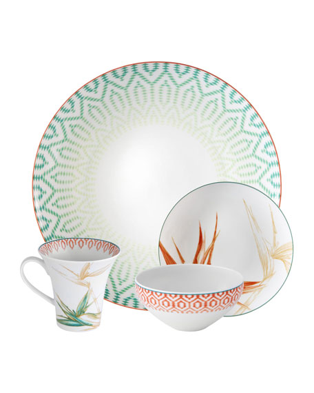 Fiji 4-Piece Dinnerware Set