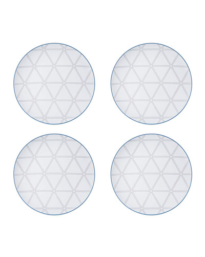 Orquestra Dessert/Salad Plates  Set of 4