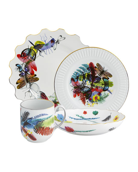 Christian Lacroix Caribe 4-Piece Dinnerware Set