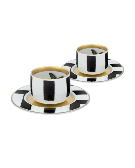 Christian Lacroix Sol Y Sombra Espresso/Coffee Cups &