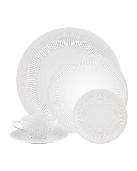 Utopia 5-Piece Dinnerware Set
