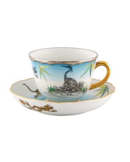 Christian Lacroix Reveries Espresso/Coffee Cups & Matching