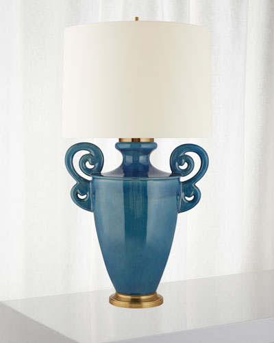 Ralphaeli Large Handled Table Lamp