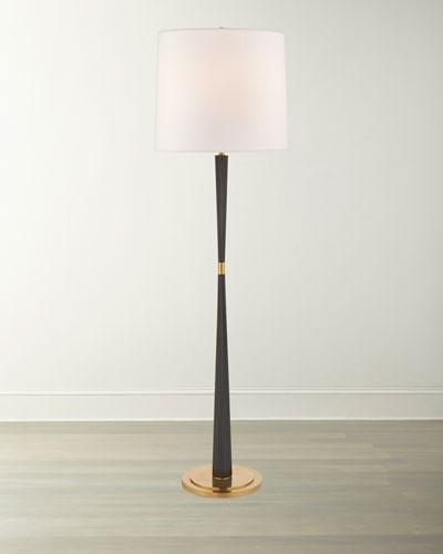 Refined Rib Large Floor Lamp