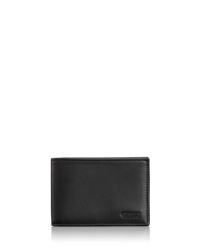 Delta Slim Single Billfold Wallet