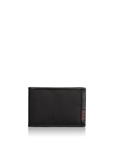 Alpha Slim Single Billfold Wallet