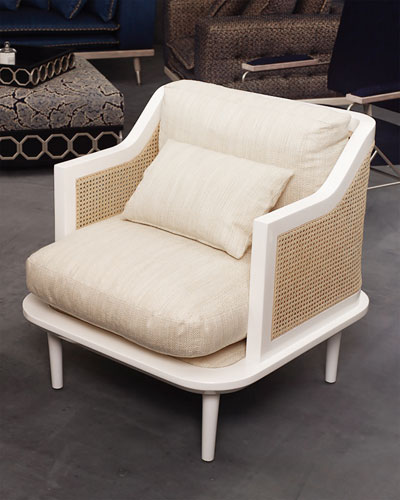 Palisades Cane Accent Chair