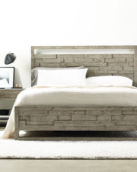 Shaw Panel Bed - California King