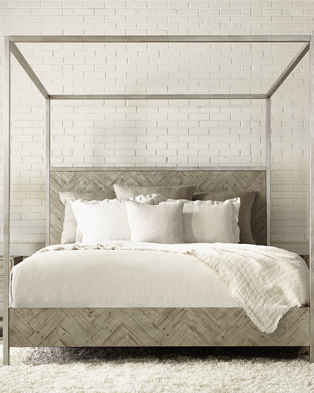 Milo Canopy Bed - Queen
