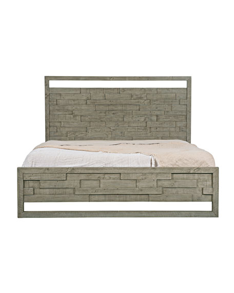 Shaw Panel Bed - King