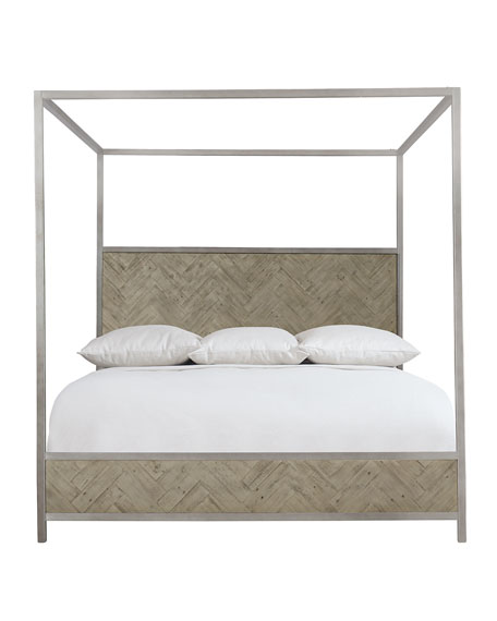 Milo Canopy Bed - King