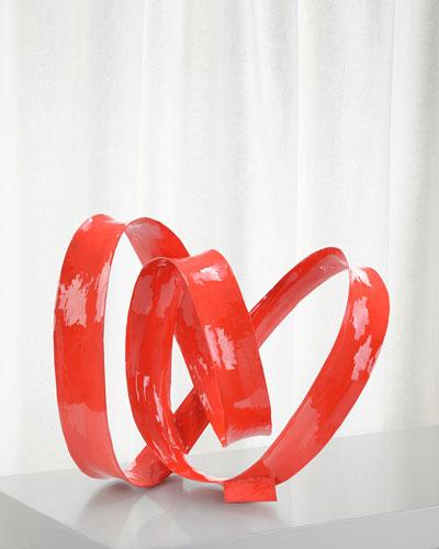 Artistic Swirl Sculpture I