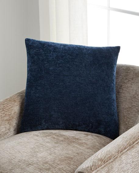 "Brody Sapphire Pillow, 22""Sq."