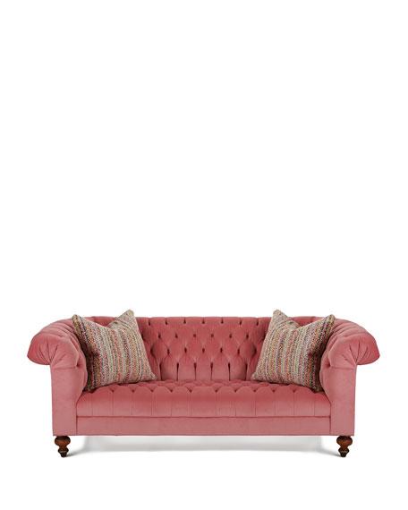 "Cadence Tufted Sofa, 86"""