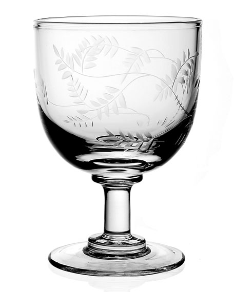 Wisteria Wine Glass