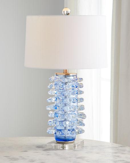 Spike Art Glass Crystal Lamp