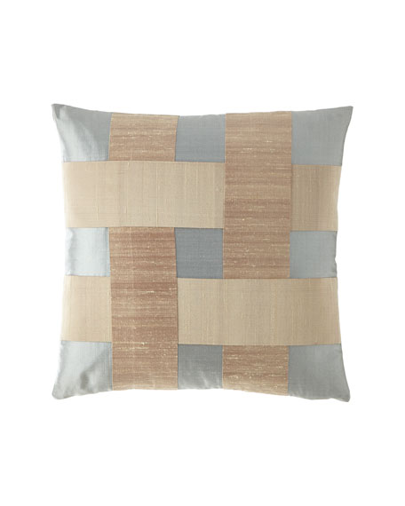 Dian Austin Couture Home Crisscross Lattice Boutique Pillow