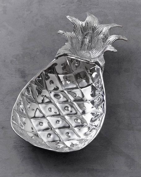 Garden Pineapple Chip & Dip Server