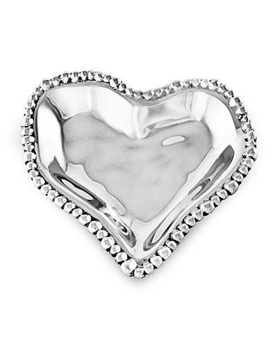 Organic Pearl Small Heart Bowl