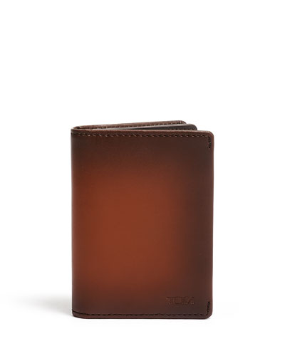 Nassau Gusseted Card Case