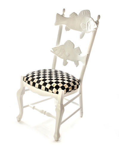 Outdoor Courtly Check Fish Chair