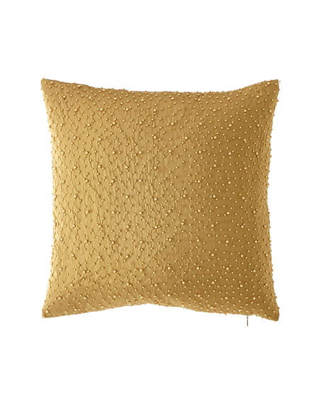 Luxe Silk Pearl Pillow