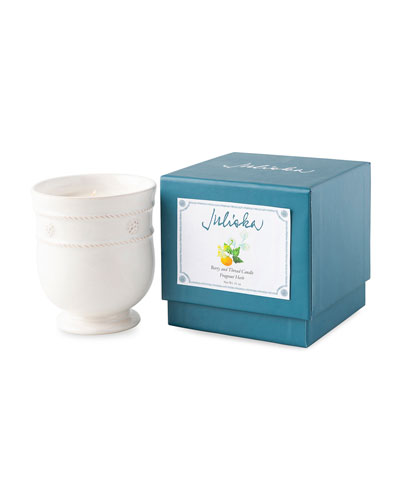 Berry and Thread Kitchen Whitewash Fragrant Herb Candle