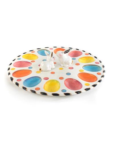 Dotty Egg Plate