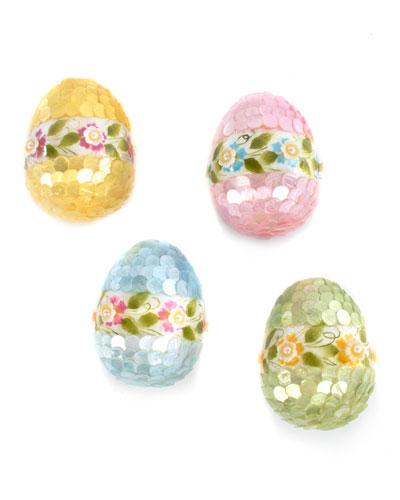 Garland Eggs  Set of 4