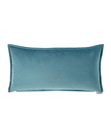 Fino Lino Linen & Lace Velvet Mini Lumbar