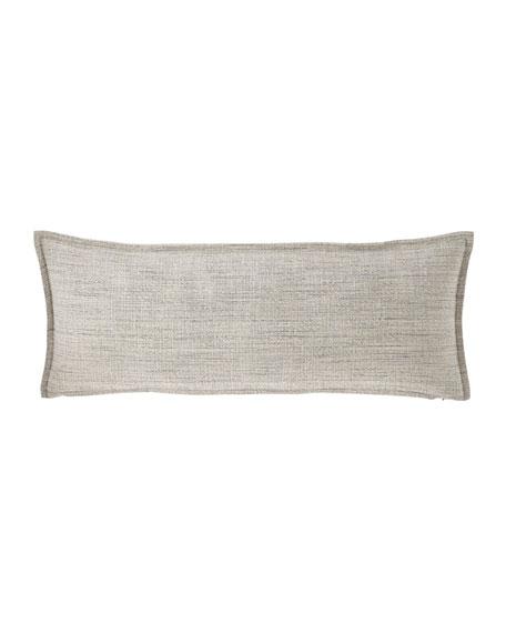 Fino Lino Linen & Lace Birch Lumbar Sham