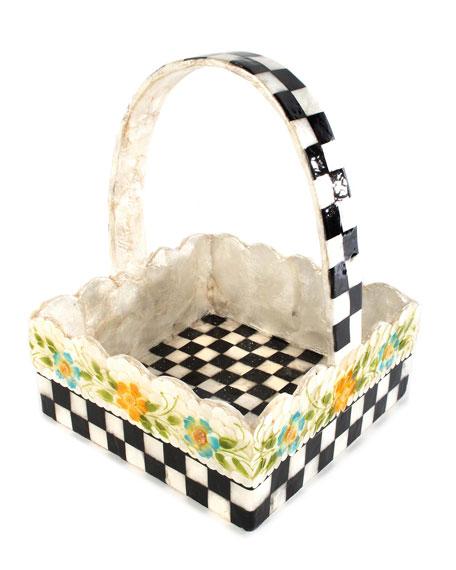 MacKenzie-Childs Picket Fence Basket