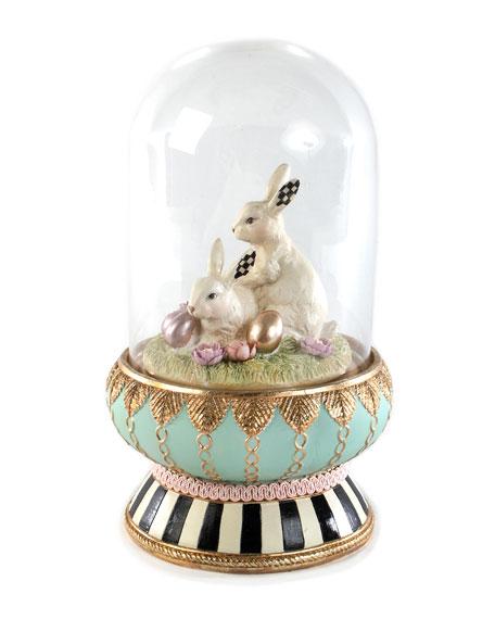 MacKenzie-Childs Macaron Bunny Cloche