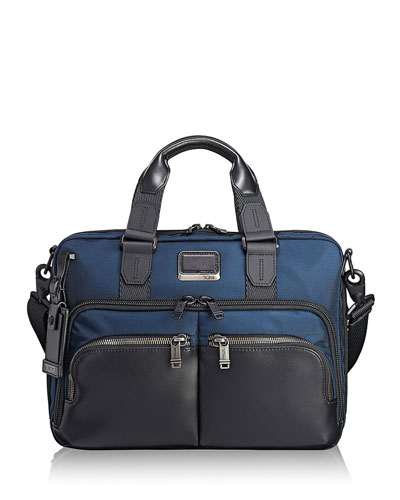 Alpha Bravo Albany Slim Briefcase