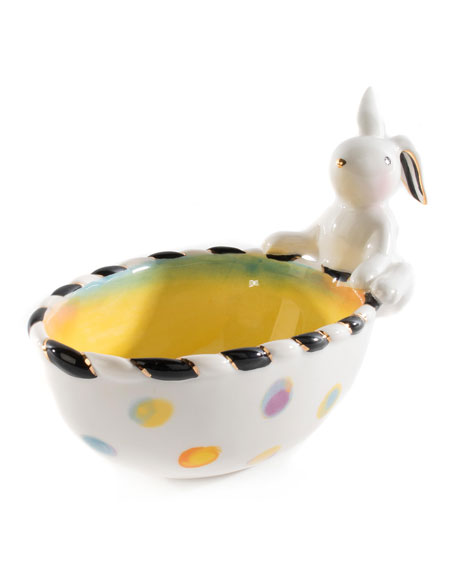 MacKenzie-Childs Dotty Snack Bowl
