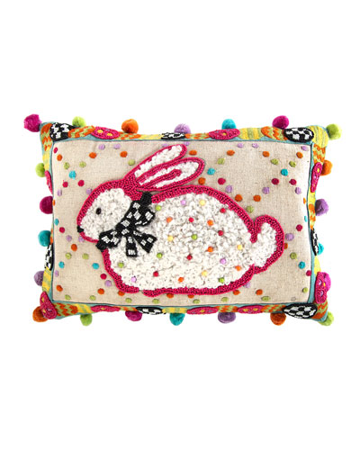 Dotty Bunny Pillow