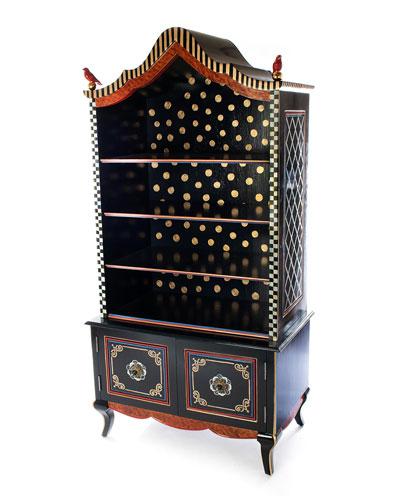 Bluetopia Bookcase
